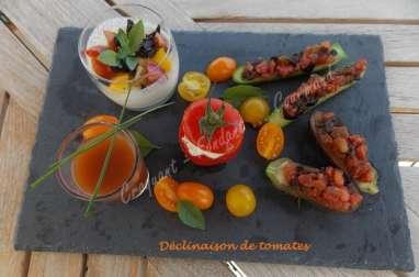 Baby-légumes aux tomates