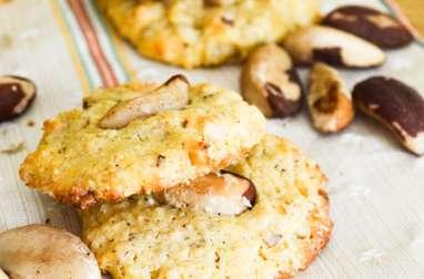 Biscuits chocolat blanc et noix du Brésil