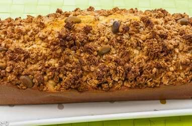 Gâteau du matin aux cerises et pistaches