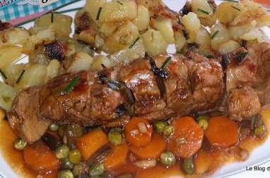 Filet mignon de porc au vinaigre balsamique
