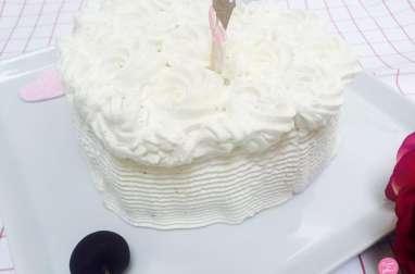 Vacherin glacé à la vanille