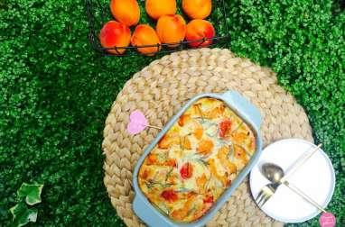 Clafoutis abricots romarin