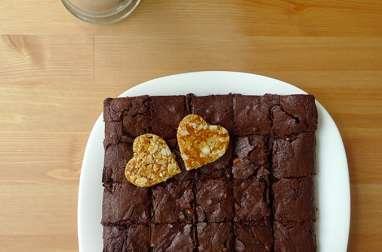 Brownie à la nougatine (en images)