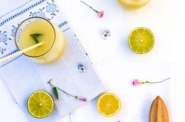 Citronnade menthe mélisse
