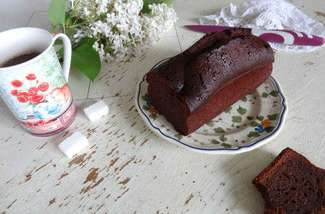 Cake au chocolat recette Valrhona