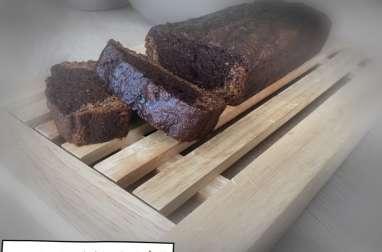 Bananabread marbré chocolat/ noisette