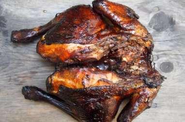 Poulet poussière, poulet grillé de la Réunion