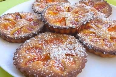 Gâteaux aux abricots sans gluten