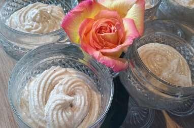 Mousse de crème de marron au mascarpone - Les recettes de sandrine au companion ou pas