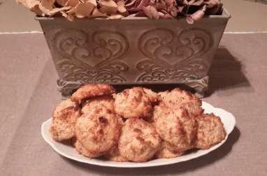 Rochers à la noix de coco et pralin
