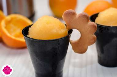 Sorbet à l'orange