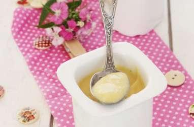 Petits pots de Crème Vanille au Lait d'Amandes