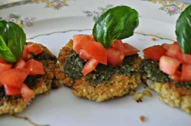 Croquettes de quinoa et courgettes (enfants de + de 24 mois)