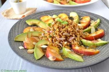 Salade gourmande au petit épeautre