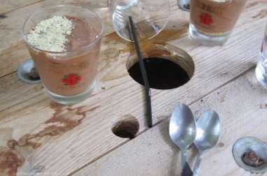 Irish mousse au chocolat