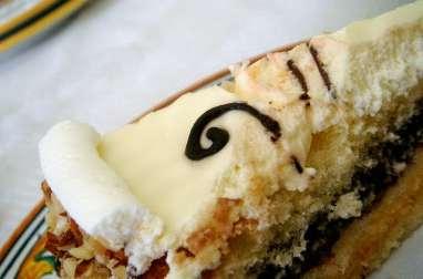 Gâteau génoise fourré au cacao fondant