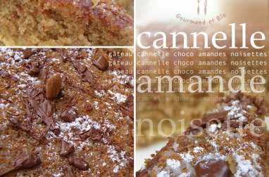 Gâteau cannelle amande