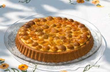 Gâteau renversé comme une tarte aux mirabelles