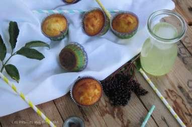 Petits moelleux aux baies de sureau et citron