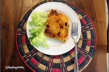 Tortilla de patata au chorizo