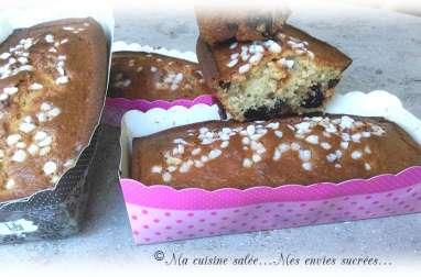 Cake au fromage blanc et griottes - Pépites de chocolat