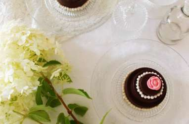 Mini wedding opéra coeur caramel toffee à la fleur de sel