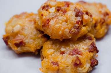 Biscuits crousti-moelleux au chorizo et aux pignons de pin