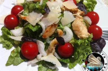 Salade fraîche au poulet