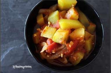 Confit de courgettes du jardin à la tomate et à l'origan
