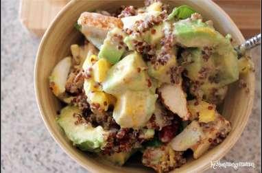 Salad bowl quinoa et poulet