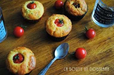 Muffins aux tomates cerises et chorizo