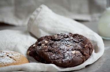 Cookies magiques aux flocons d'avoine, noisettes et chocolat