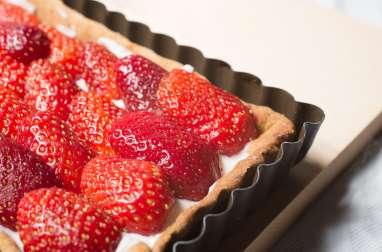 La tarte fraises ricotta