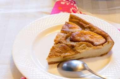 Flognarde aux pommes, sans lait et sans gluten
