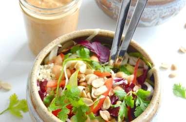 Salade Thai vegan au quinoa