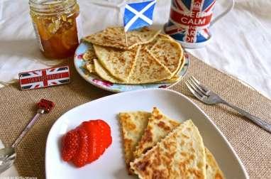 Tattie scones écossais à base de pommes de terre
