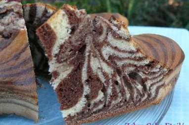 Zebra cake etoilé