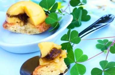 Sablés aux quatre-épices et son crémeux yuzu-citron coeur confiture d'olives