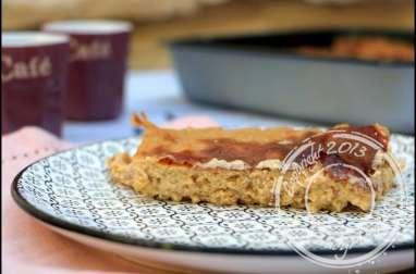 Gâteau au tapioca à l'amande