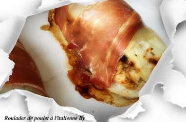 Roulades de poulet à l'italienne