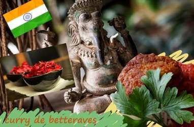 Curry de betteraves
