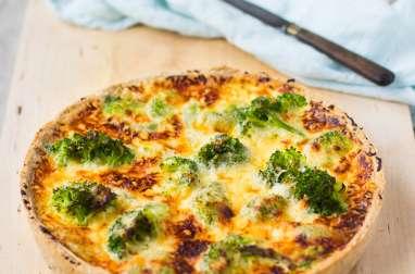 Quiche gourmande aux brocolis, haricots verts et cheddar