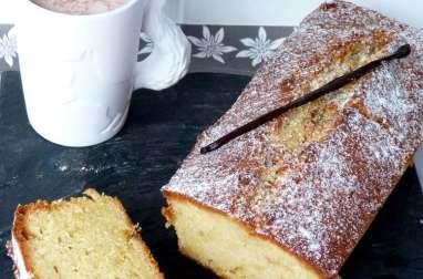 Cake à la vanille parce que l'hiver vient