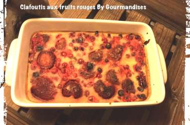 Clafoutis aux fruits rouges