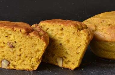Muffins courge butternut et noix