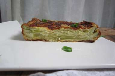 Gâteau invisible courgettes parmesan