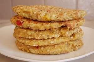 Galettes végétariennes quinoa et sarrasin