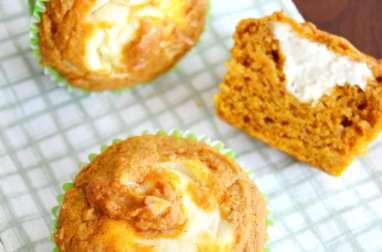 Muffins cheesecake à la citrouille