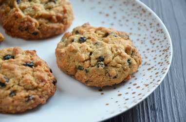 Cookies avoine myrtilles