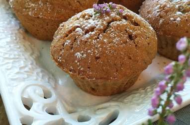 Muffins au potiron et raisons secs